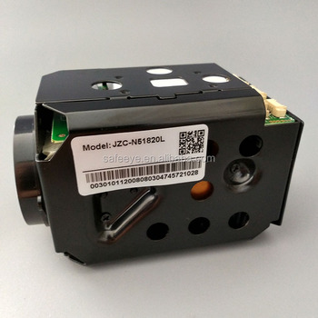 XMeye JZC-N51820LJZC-N51820S 1.3M/2.0M 18X Optical 1080P high speed cameras Zoom Camera Module Low illumination Starlight level
