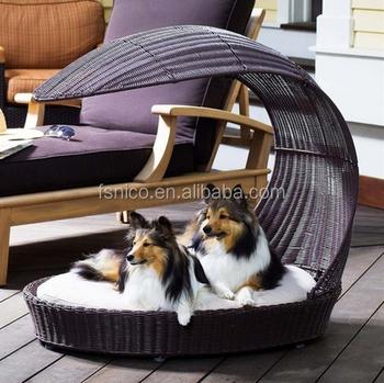 Elegant Outdoor Dog Beds Canopy Bed