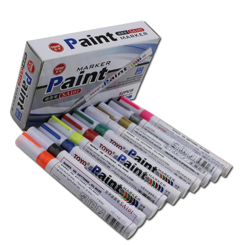 fine point marker nachf llbare paint marker wei permanent marker produkt id 60409141039. Black Bedroom Furniture Sets. Home Design Ideas