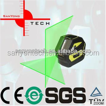 LP104G Cheap laser level Strong light self-leveling Mini Cross Line Green Beam Laser Level