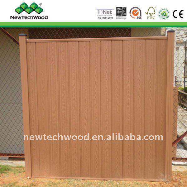 recinzioni in legno composito recinzione watt per canale