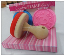 Hot-selling Christmas Custom Cookie Stamps with 3 Interchangable Motive Heads
