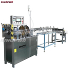 Automatic candy tube clear cylinder box forming machine