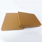 custom printed 3 layer brown kraft tuck corrugated mailer folding box packaging with logo
