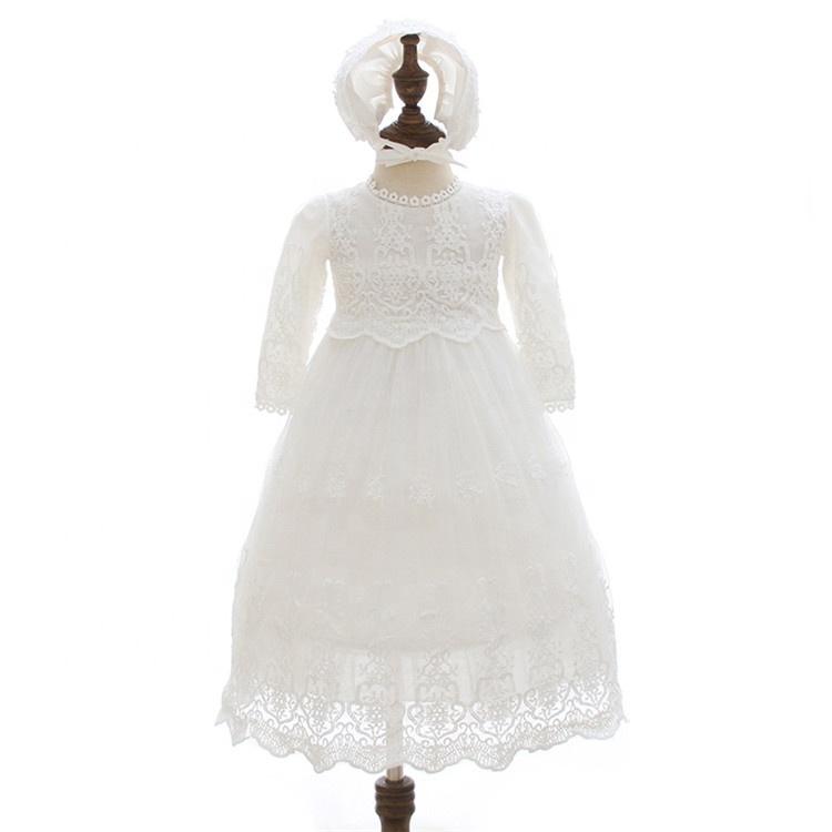 2868c6e81 Recién Nacido bebé niña bautismo traje de bautizo bendición vestido de  fiesta boda vestido de fiesta