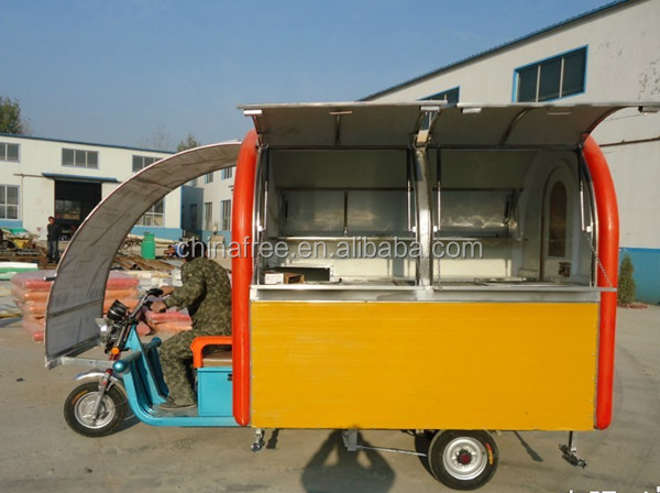 widely used stainless steel fast food mobile kitchen trailer - buy