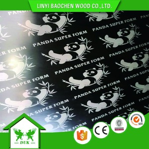 Linyi Best 9mm 12mm 15mm 18mm 21mm WBP Glue Brown Black Film Faced Plywood(Marine Plywood Manufacturer