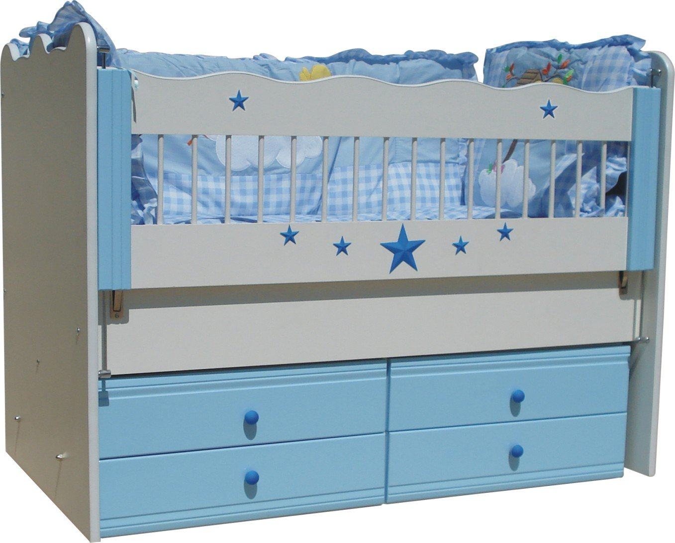 Baby Cradle Star Decored