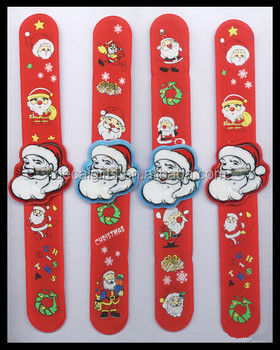 crazy hot cheap bulk christmas gifts for kids slap led digital santa claus christmas gifts watches