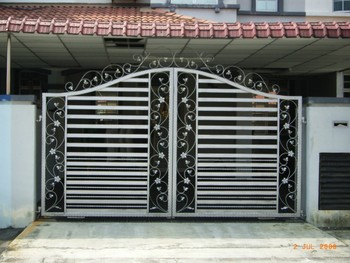 Steel Fence Gate Factory Designs