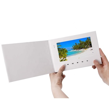 "OEM Video Brochure 2.4"" 4.3"" 5"" 7"" 10.1""LCD Screen Digital Photo Frame Video Greeting Card for vip customer"