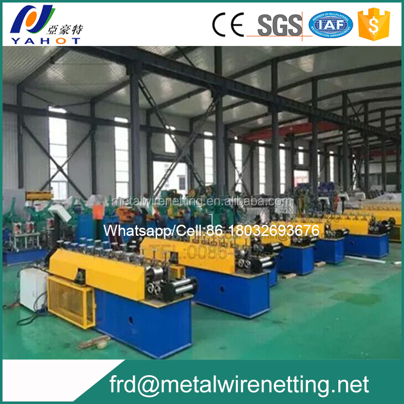 High speed plaster stop mesh machine production line