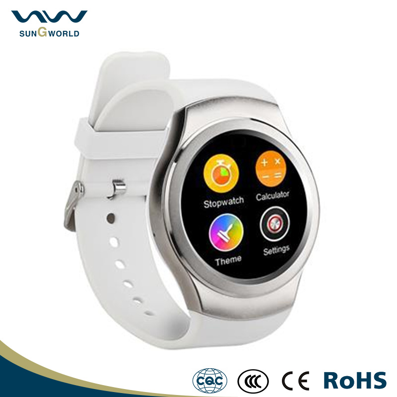 W22 Smart Watch IPS Round Screen Life Water Resistance