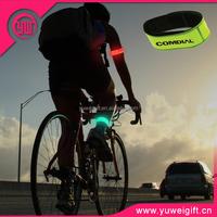 Night Safety Slap Armband Cycling Jogging Walking Reflective Slap Wrap Bracelets Wrist Bands for Running