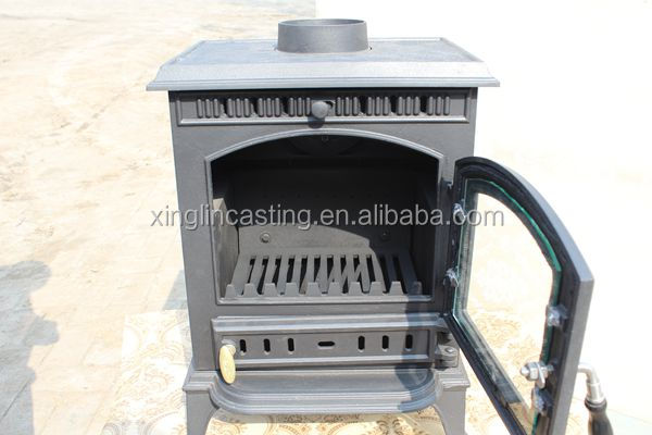 cast iron wood stove wall wood burning fireplace XL5
