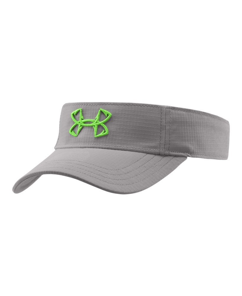 Under Armour Women's UA Fish Hook Visor One Size Fits All Storm