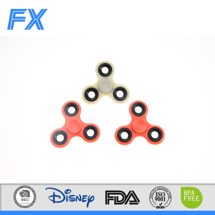 2017 Hot-sale magical decompression spinner toys hand spinner new crystal hand spinner toys