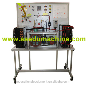Trainer for the Study of the Open Type Compressor Educational Equipment Education Trainer Training Bench Education Aids