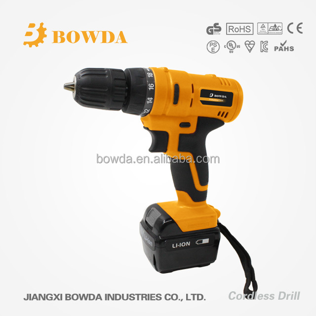 Best selling power tool 18v cordless drill