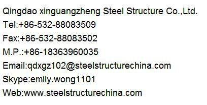 prefabricated light steel structure buildable warehouse