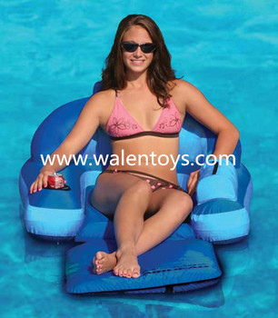 chinese supplier inflatable designer mattress floating lounger