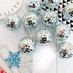 EVERMORE crystal twinkle fairy holiday led glowing ball string lights