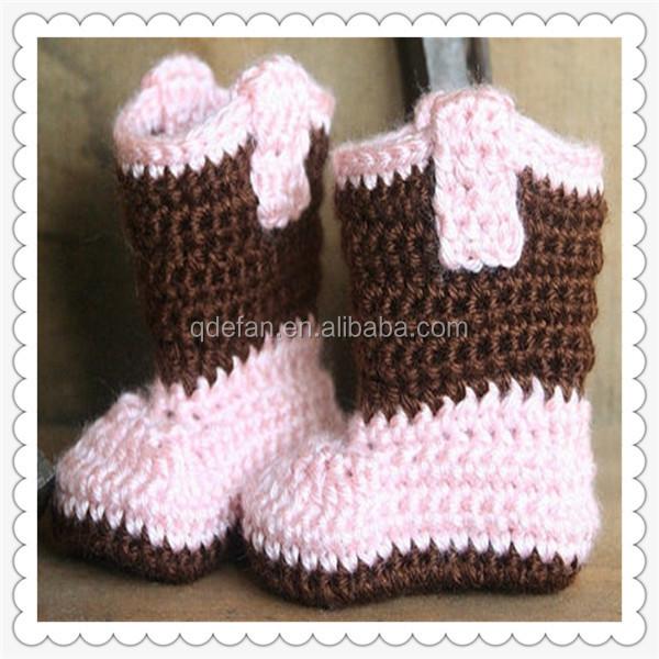 100% Baumwolle Handemade Häkeln Stricken Baby Schuhe,Weiche Häkeln ...
