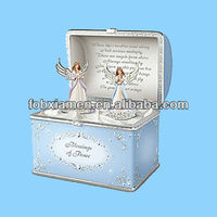 Blessing of peace guardian little angel figurine model