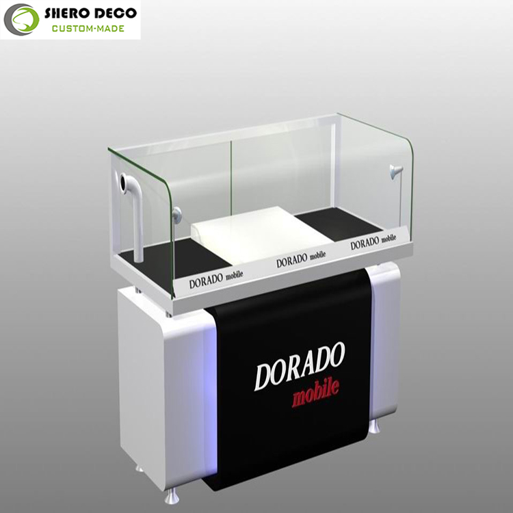 Retail excellent craft high class electronic furniture shop electronic retail counter