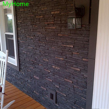 Interior and Exterior Decor PU Stone Wall Panel