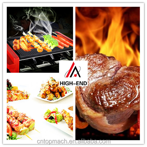 Smokeless Stovetop Indoor BBQ bbq/korean bbq tables for restaurant