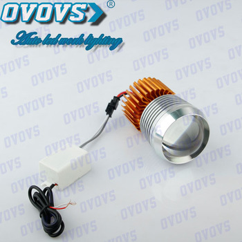 Low Power Consumption 12 Volt Led Lights Motorcycles 12w Headlight ...