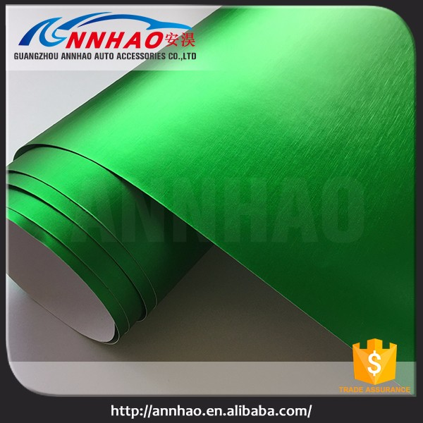 High Flexibility Brushed Matte Chrome Car Wraping Vinyl Car Wrap