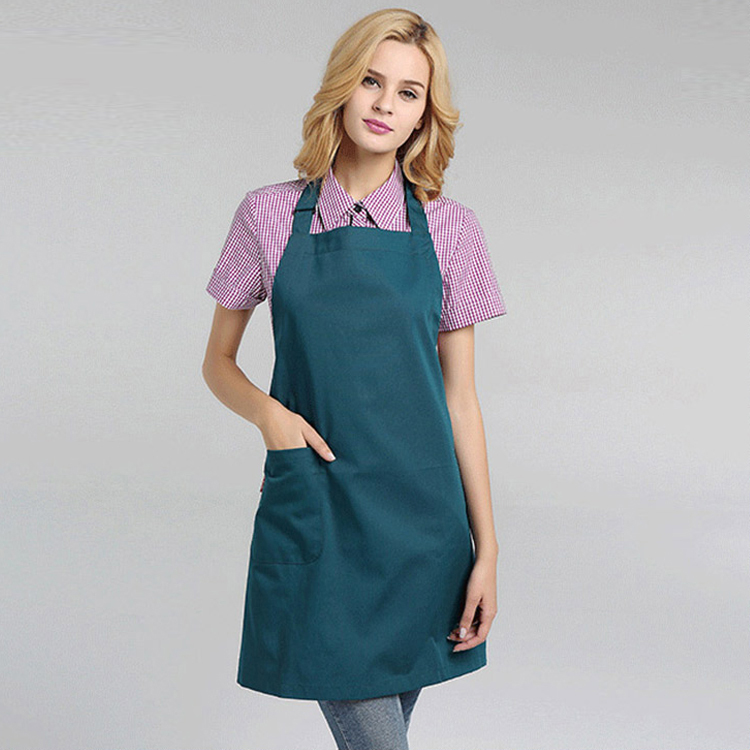 50% Cotton 50% Polyester Textured Fabric Private Chef Apron