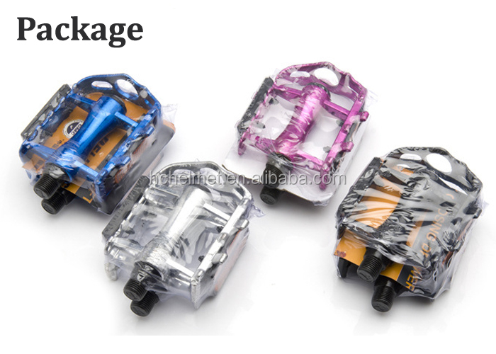 2015 Top Selling Ultralight Bicycle Pedals Mountain Exercise Bike Pedals Alloy Aluminum Pedal