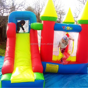 Cheap Price Nylon Inflatable Jumping Castle Slide With PE Balls