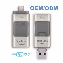 fancy USB Flash Disk memoria usb de 64 gb memory for iphone 7 external memory for ipod