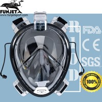 Underwater Diving Mares Stream Dry Snorkel Set Swimming Training Scuba Mergulho Full Face Mask New Anti Dropshipping