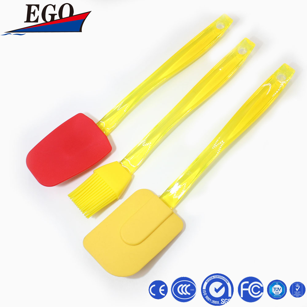Colorful baking silicone butter spatula