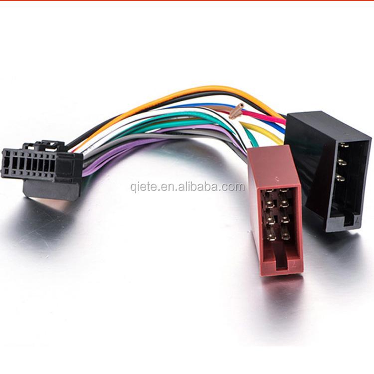 Car Stereo Radio Iso Standard Wiring Harness