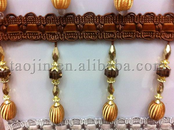 Textile Decorative Techniques Hotsale Elegant Beaded Trimmings ...