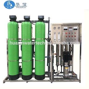 Full automatic borehole water treatment / salt water purification system / ground well water purifying