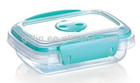 Lock Silicone Easy Open Plastic Food Container