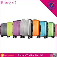 photochromic coating luggage suitcase plastic suitcase with dots printing trolley luggage for girls