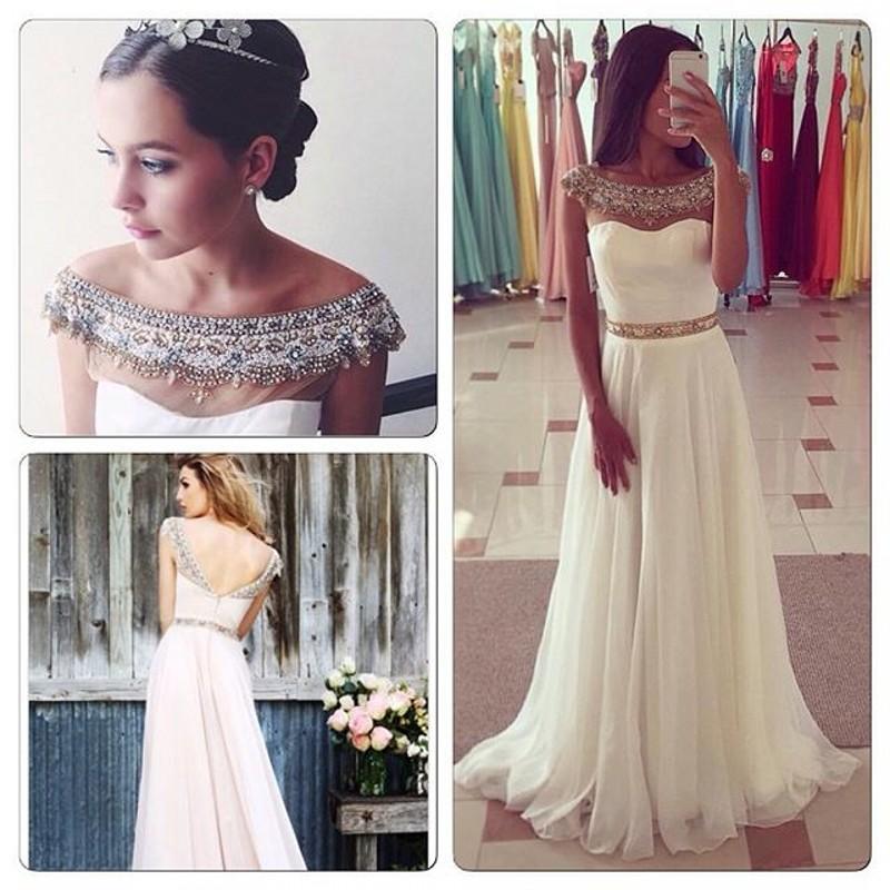e4f1931b0 Vestidos de fiesta largos baratos blancos - Vestido azul