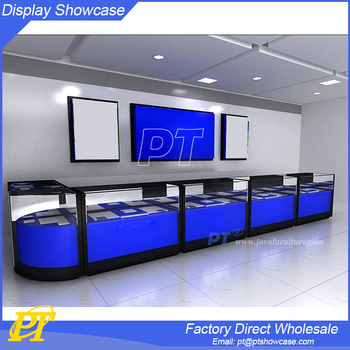 Mobile Shop Decoration Ideas Phone Store Furniture Cell Case Display