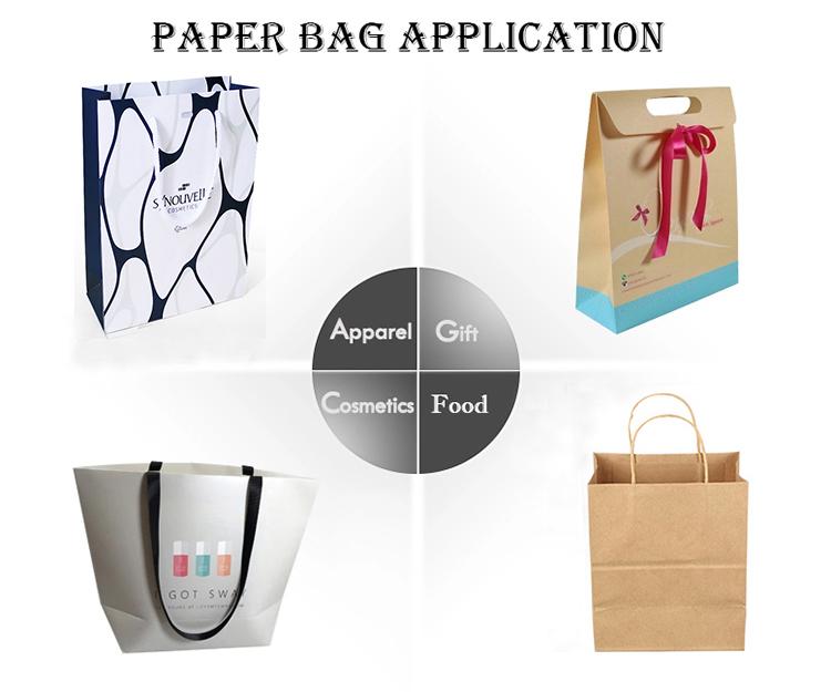 Новый продукт Подарочная сумка коричневая одежда хозяйственная сумка Пользовательский логотип дизайн крафт Подарочная бумажная сумка