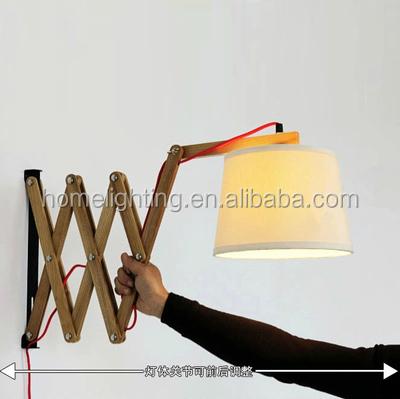 w 105 moderne bois lampe de mur de t te de lit lecture lampe de mur lampe de mur lampe de coin. Black Bedroom Furniture Sets. Home Design Ideas
