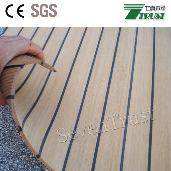 Southerly Made Tomeasure Synthetic Wood Boat Cockpit Deck Floor Seat