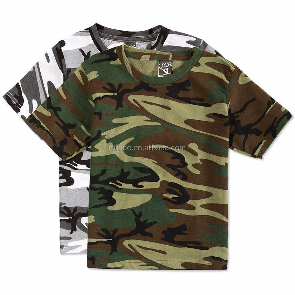 Wholesale printed t shirts all over print camo t shirt for Camouflage t shirt printing
